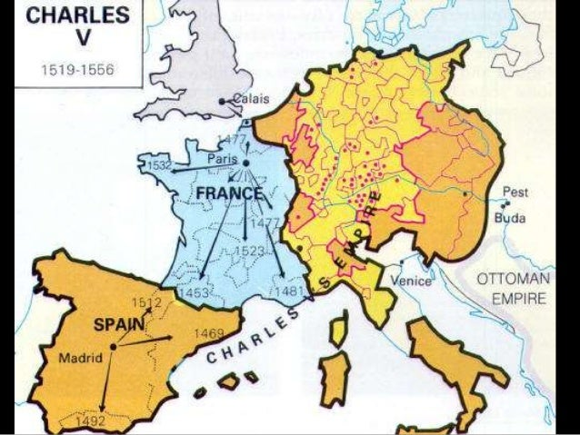 The Thirty Years War - Map germany thirty years war