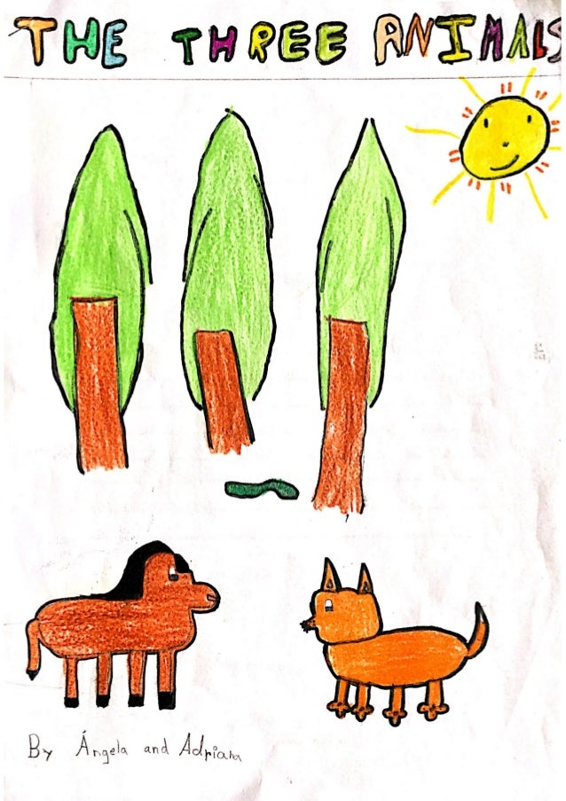 The three animals by Ángela and Adriana