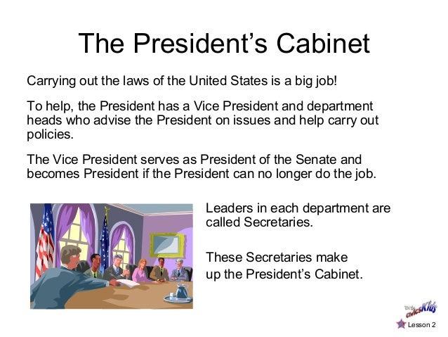 ... 3. The Presidentu0027s Cabinet ...