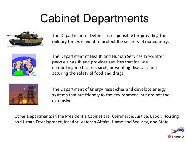 which cabinet department is responsible for conducting the us census the three branches of government 28440