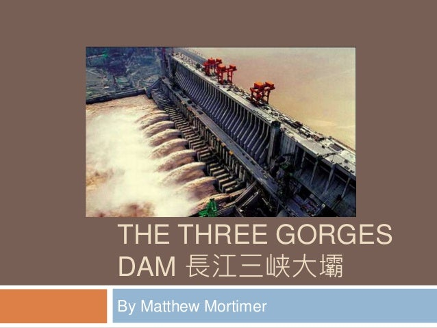 three gorges dam case study slideshare