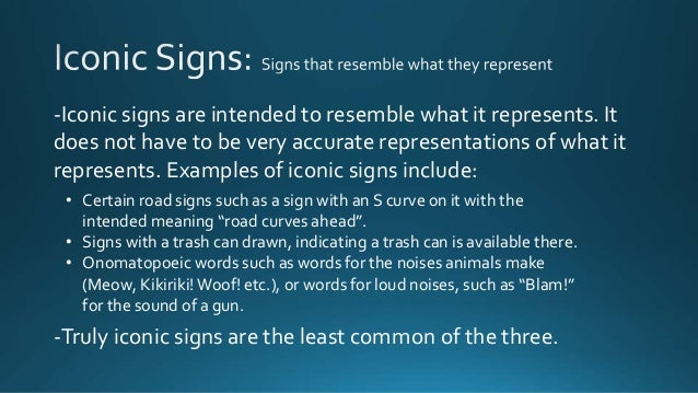 signs in linguistics Not even deaf people who used sign language in their daily lives knew what it was  do the signs of american sign language  why major in linguistics.