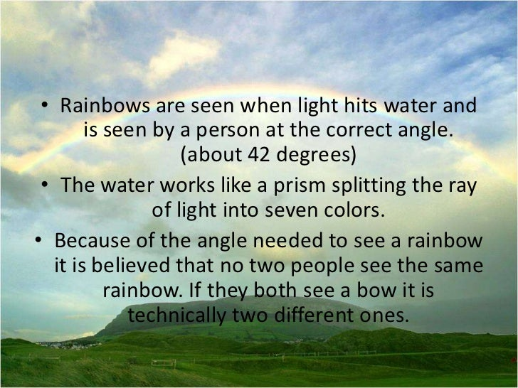the three rainbows in the bible