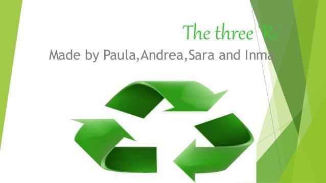 The three `RS` Made by Paula,Andrea,Sara and Inma