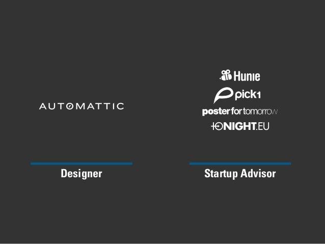 Designer Startup Advisor NIGHT.EU