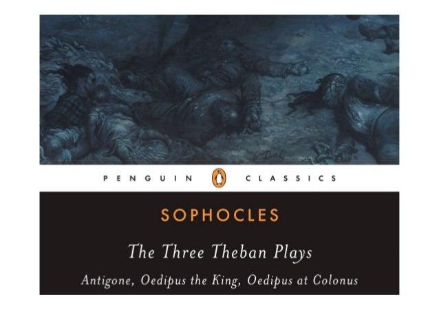 Pdf Book The Three Theban Plays Antigone Oedipus The King Oedipus