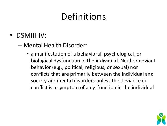 Defining Features Of Personality Disorders: Impulse Control Problems