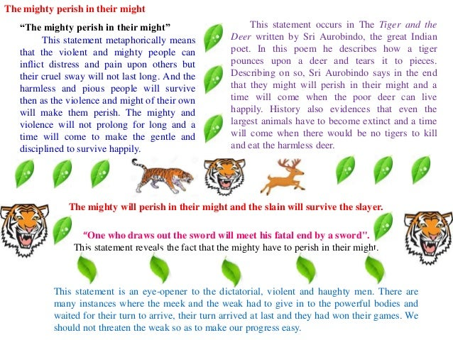 the tiger and deer by aurobindo ghosh West bengal state university draft for part iii english honours syllabus to be effective from the academic session of 2010-2011 this draft has been discussed and modified in the ug bos meetings held on 12th march and 30th april 2010 it is now being uploaded on the website inviting comments.