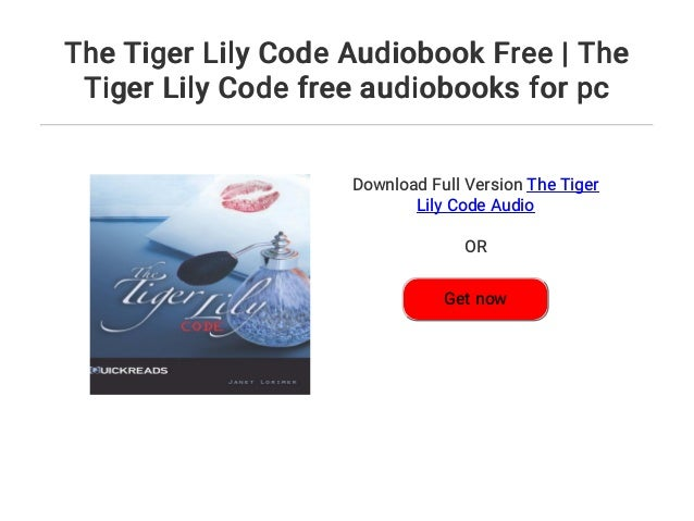 4  the tiger lily