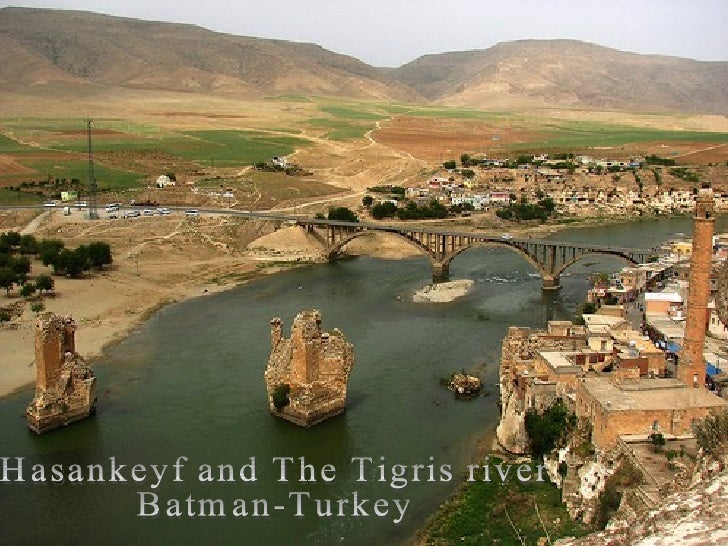 The Tigris River (Dicle) Slide 3