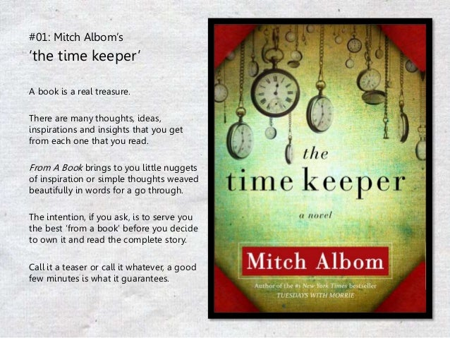 the mitch epuben albom timekeeper