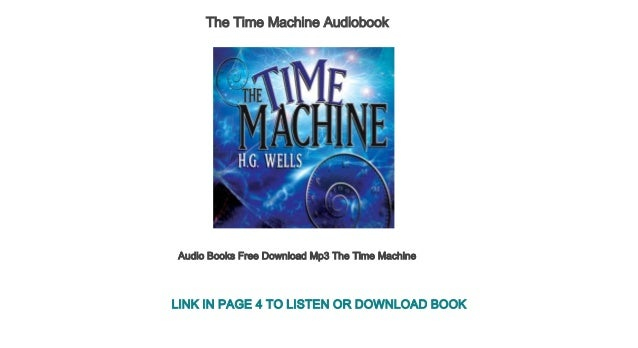 Audio Books Free Download Mp3 The Time Machine
