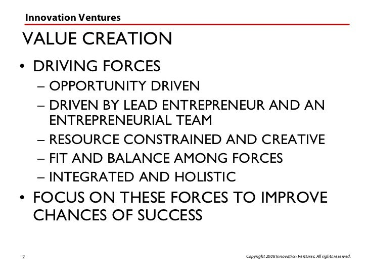 the timmons model of entrepreneurship Realized how exciting entrepreneurship, leadership and organization  figure 3  – an adapted version of the timmons model source: (spinelli and neck.