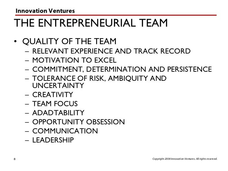 the timmons model of entrepreneurship A model to explain how culture influences the indigenous entrepreneur's attitude toward new venture creation and development and associated entrepreneurial behavior petrakis (2005), which focused on ex ante and ex post entrepreneurial attitudes towards risk.