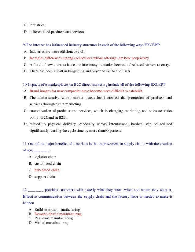 The tino possible exam born for success(e commerce 2)