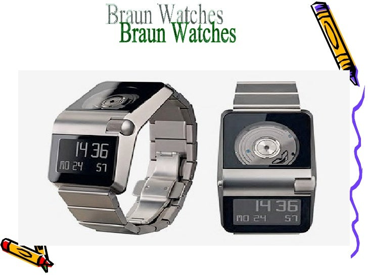 Braun Watches• The clock easily contaminated from exposure to sweat, dirt  and other substances. Clean the clock using a s...