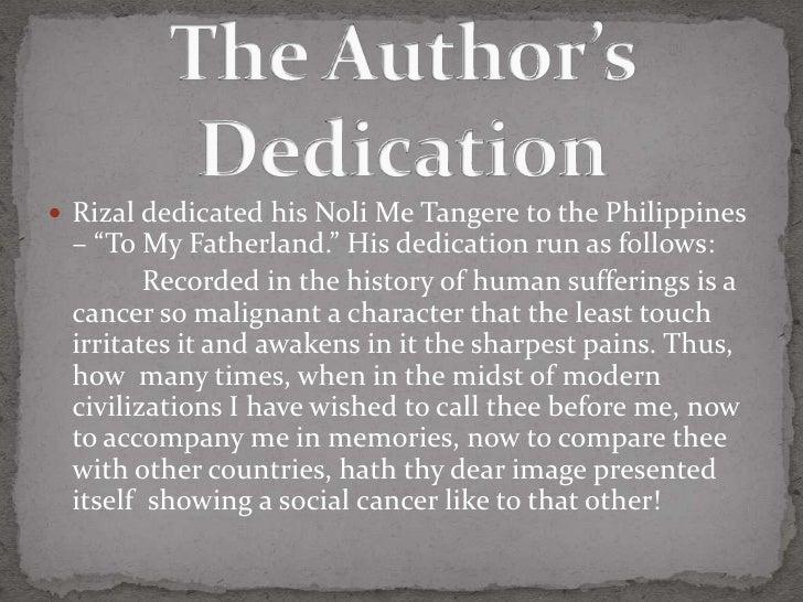 author of noli me tangere