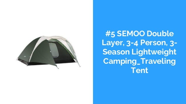 The top 10 best 4 person tents in 2018 reviews