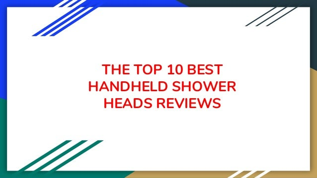 THE TOP 10 BEST HANDHELD SHOWER HEADS REVIEWS