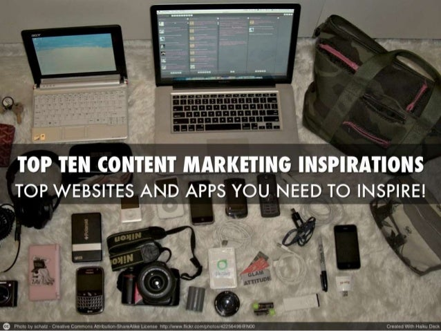 The Top 10 Content Marketing Sites And Sites For Your Inspiration