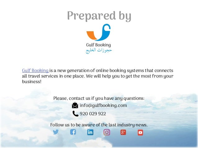 The top 10 trends of the tourism market 2017 by Gulf Booking