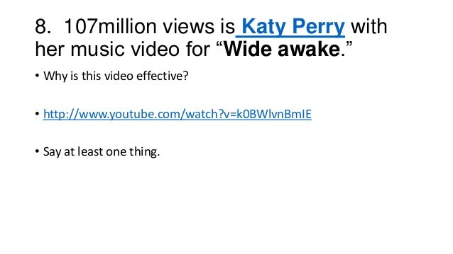 The Top 10 Most Watched Music Videos On Youtube 2012