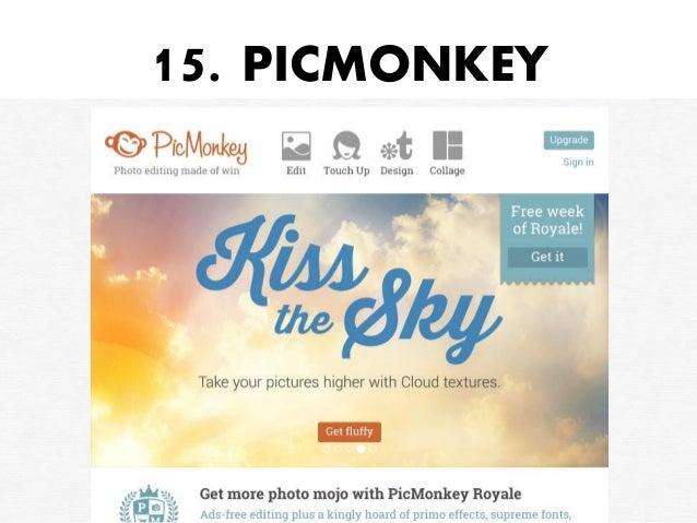 15. PICMONKEY
