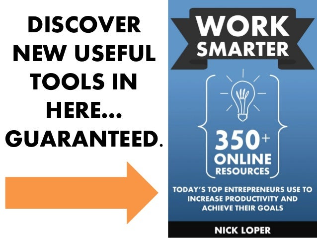 DISCOVER NEW USEFUL TOOLS IN HERE… GUARANTEED.