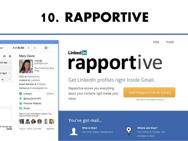 10. RAPPORTIVE