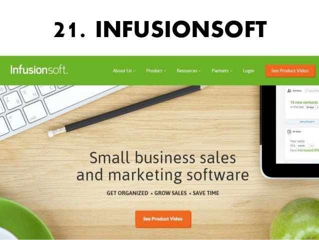 21. INFUSIONSOFT