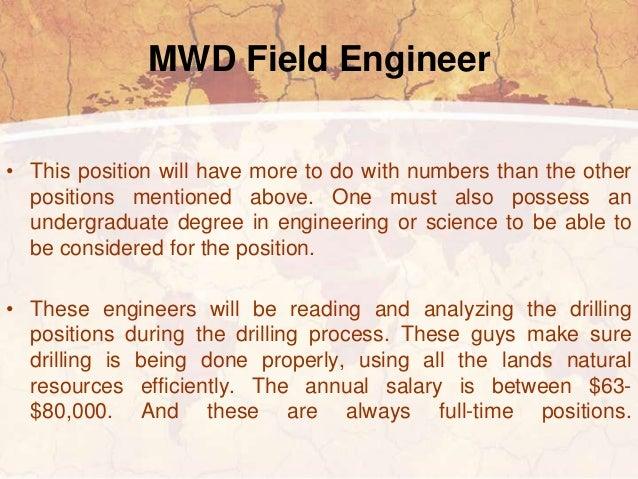 Mwd Engineer | Resume CV Cover Letter