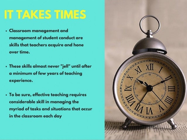 The Top 6 Management Tips for a New Teacher by Michael G. Sheppard Slide 3