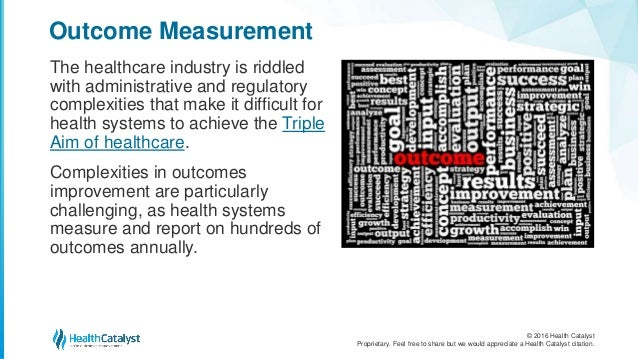 The Top 7 Outcomes Measures and 3 Measurement Essentials Slide 2