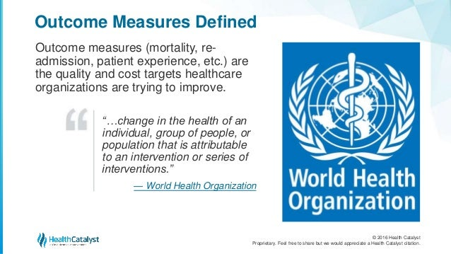 The Top 7 Outcomes Measures and 3 Measurement Essentials Slide 3