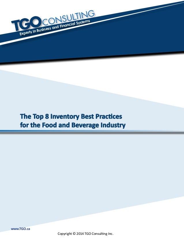 Food Bank Best Practices
