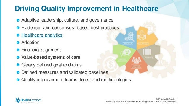 The Top Five Essentials for Quality Improvement in Healthcare