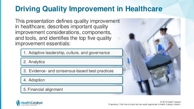 essays on quality improvement in healthcare This recent article in bmj quality & safety discusses a study conducted in the ihi/npsf patient safety congress brings together people on safety this is the first congress since the national patient safety foundation (npsf) merged with the institute for healthcare improvement.