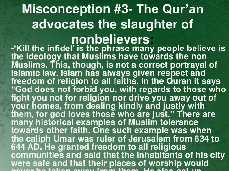 islam misconceptions among muslims Myths of islam: home page muslims often complain of misconceptions about their religion in the west we took a hard look, and found that the most prevalent myths of islam are the ones held by muslims and western apologists.