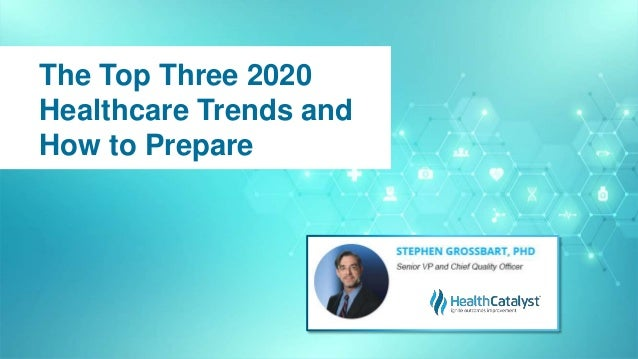 The Top Three 2020 Healthcare Trends and How to Prepare