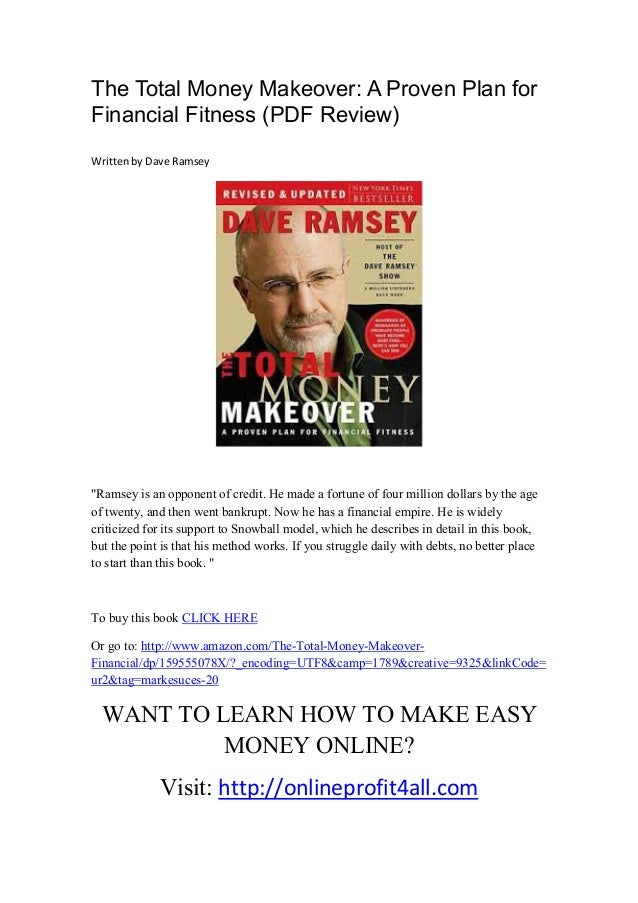total money makeover pdf The total money makeover - Dave Ramsey pdf