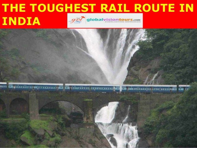 THE TOUGHEST RAIL ROUTE IN INDIA