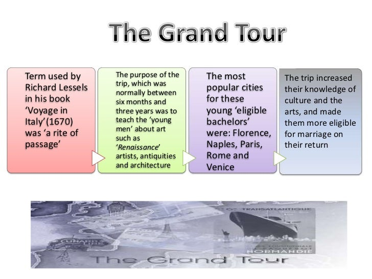 Term used by      The purpose of the     The most          The trip increased                  trip, which wasRichard Less...