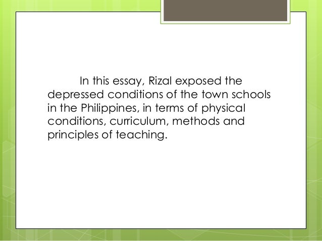 essay of jose rizal home Rizal homecoming essay 1887-1888-decision to return homebecause of the publication of the noli me tangere and the uproar it caused amongthe jose rizal.