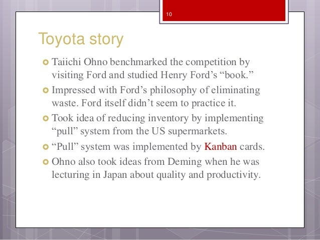 Toyota Production System Beyond large-scale production by Taiichi Ohno
