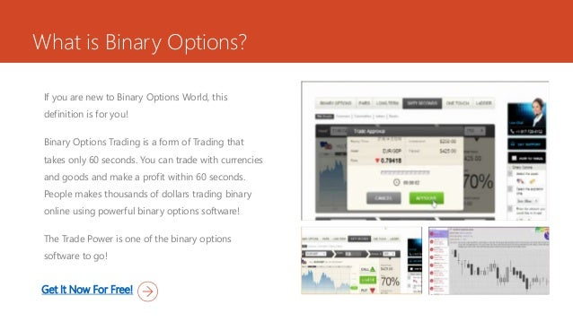 binary options software that works