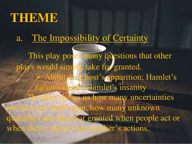 Hamlet and The Mystery of Death