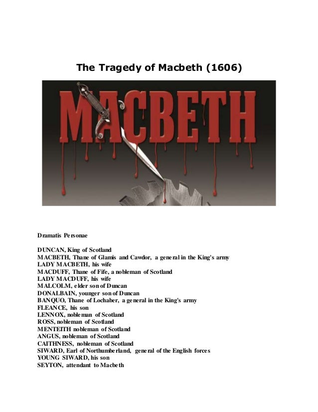 the tragedy of macbeth 2 essay The tragedy of macbeth essay by essayswap contributor, high school, 11th grade, february 2008 the tragedy of macbeth, by william shakespeare: an analysis of ambition the guiding force of macbeth, the principal cause of the plot's dramatic introduction and finale.