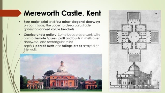 plaster copping 17 mereworth castle - Transitional Castle 2016