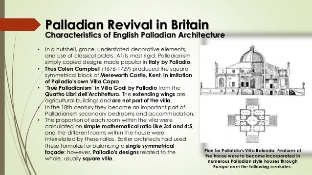 Palladian Revival In Britain Architecture 6 Characteristics