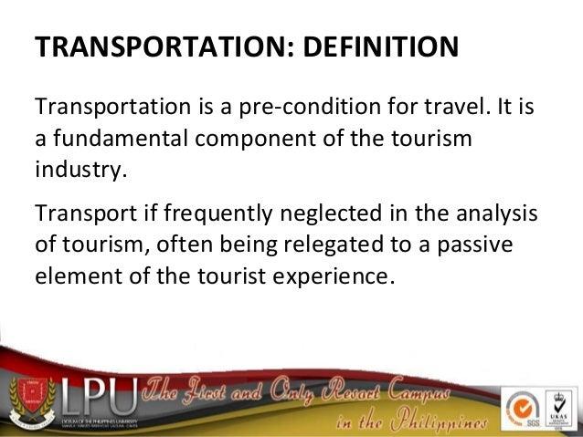 The Transportation & Aviation Industry